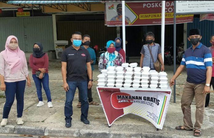 Melayu Raya Tanjungpinang Berbagi di Jum'at Berkah