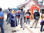 Plt Walikota Tanjungpinang, Rahma Saat Meninjau Lokasi Pelabuhan Pelantar II