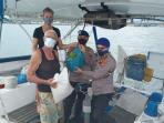 Kasatpolairud Polres Tanjungpinang, Iptu Ardian Saat Menyerahkan Bantuan