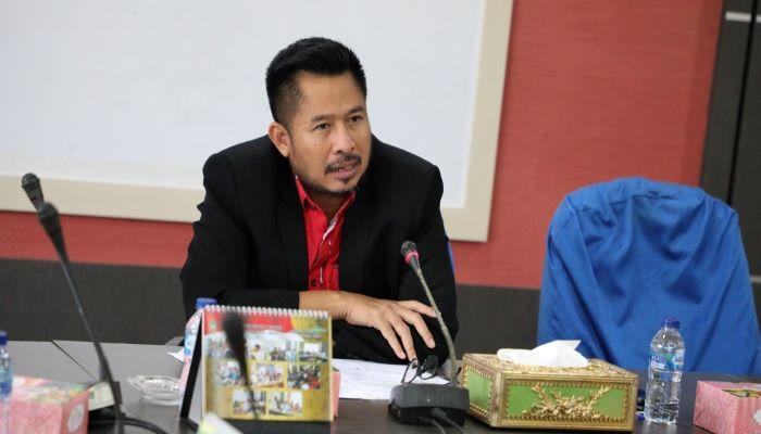 Ketua DPRD Batam, Nuryanto Saat Rapat Koordinasi