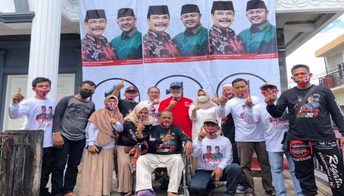 Calon Gubernur Kepri Nomor Urut 1, Soerya Respationo Usai Pertemuan Bersama Penyandang Disabilitas