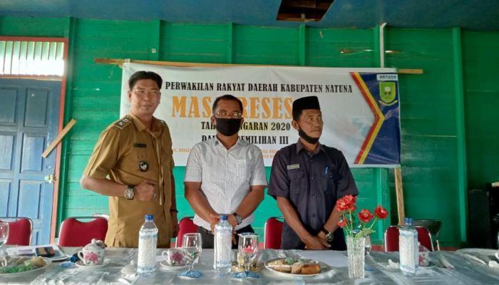 Jabat saat melakukan reses di Desa Binjai