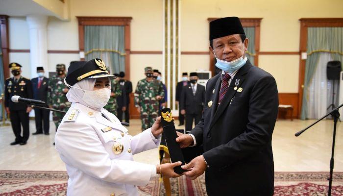 Rahma Usai Dilantik Gubernur Kepri, Isdianto Sebagai Walikota Tanjungpinang Defenitif
