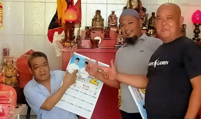 Tim Ses Bersinar Saat Bersama Tokoh Etnis Tionghoa Karimun