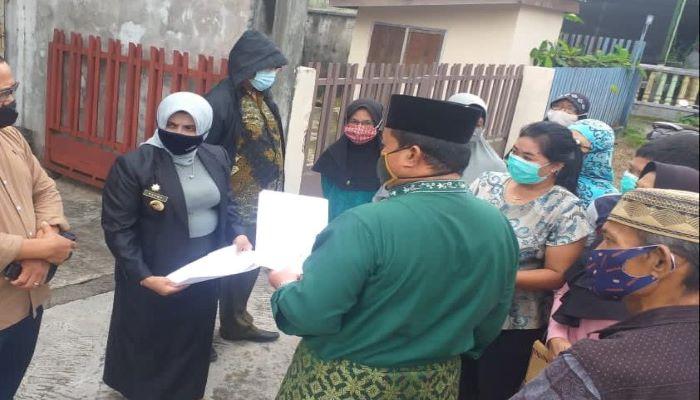 Wali Kota Tanjungpinang, Rahma Saat Meninjau Lokasi Pembangunan Tower