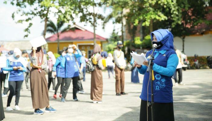 Wali Kota Tanjungpinang, Rahma Saat Menyampaikan kata Sambutannya