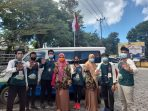 Kepala Dinas DP3APM Raja Kahairani melepas forum anak kota Tanjungpinang untuk melakukan sosialisasi keliling kota tanjungpinang, dengan tema stop pernikahan usia anak dan pembatasan game online menggunakan Mobil  perlindungan anak
