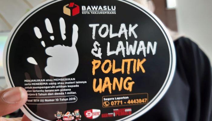 Stiker Tolak Politik Uang