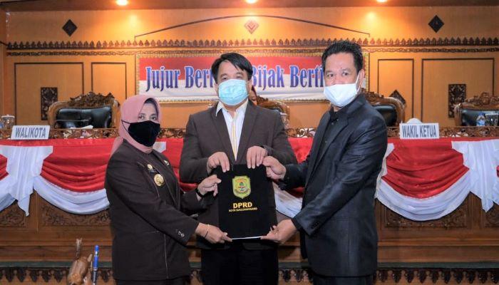 Wali Kota Tanjungpinang, Rahma Bersama Unsur Pimpinan DPRD Tanjungpinang Usai Paripurna
