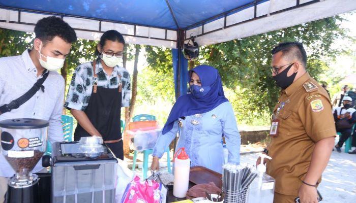 Wali Kota Tanjungpinang, Rahma Saat Meninjau Pengelolaan Sampah