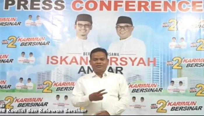 Sekretaris Koalisi Bersinar, Sunardi