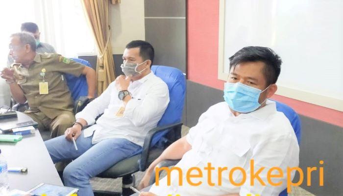 Ketua DPRD Kota Batam, Nuryanto Usai Rapat Koordinasi