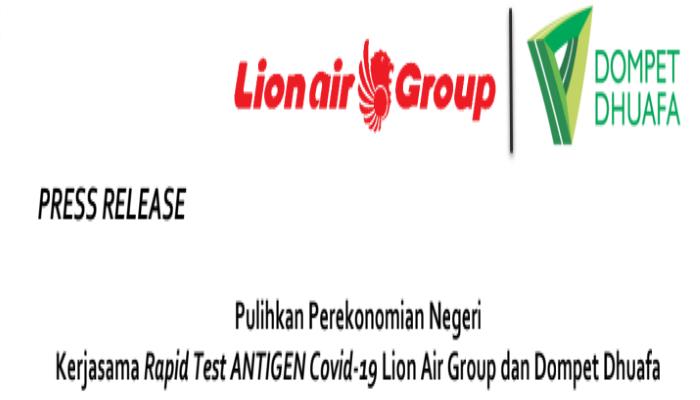 Screencapture Dompet Duafa Lion Air Group