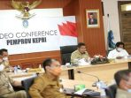 Suasana Rakoor Gubernur Se Sumatera