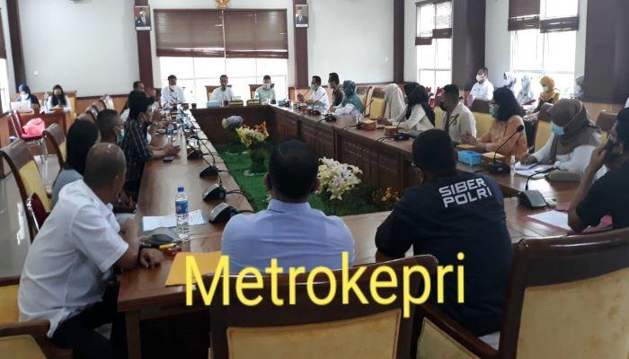 Suasana Rapat Komisi IV DPRD Batam
