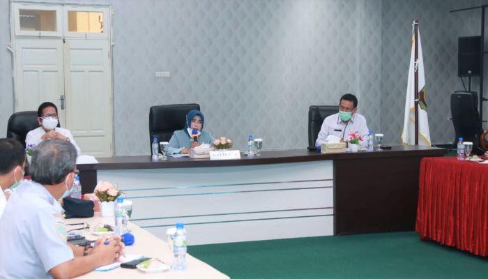 Wali Kota Tanjungpinang, Rahma Saat Memimpin Rapan Persiapan APE