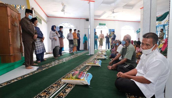 Wali Kota Tanjungpinang, Rahma Saat Menyampaikan Sambutannya Diacara Penyerahan Zakat ASN