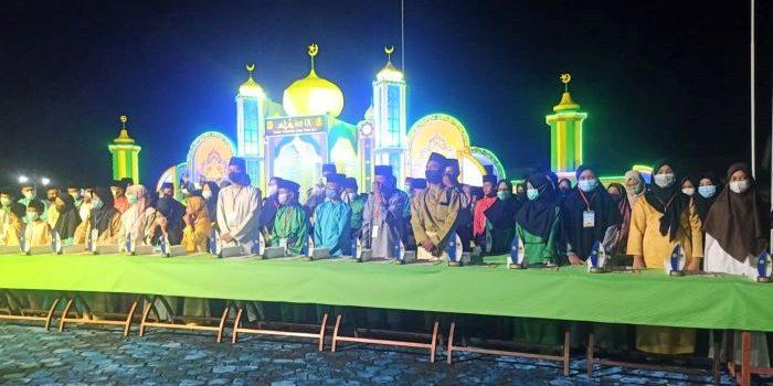 Foto Bersama Usai Acara STQ IX Kabupaten Lingga Tahun 2021