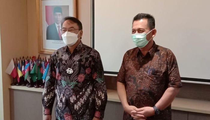 Gubernur Kepri, Ansar Ahmad Saat Bersama Dirjen Perdagangan Luar Negeri, Didi