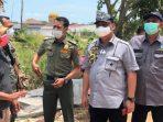 Ketua Komisi III DPRD Kepri, WIdiastadi Bersama Rombongan Saat Sidak Lahan