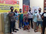 Pelaku Diduga Maling Saat Diamankan Tim Unit Reskrim Polsek Tanjungpinang Timur