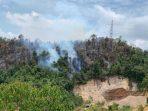 Salah Satu Titik Api di Hutan Lindung