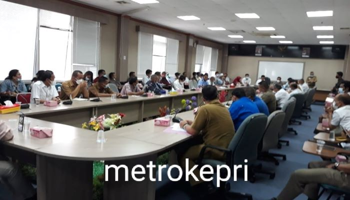 Suasana RDP Komisi I DPRD Batam Bersama Dinas Bina Marga
