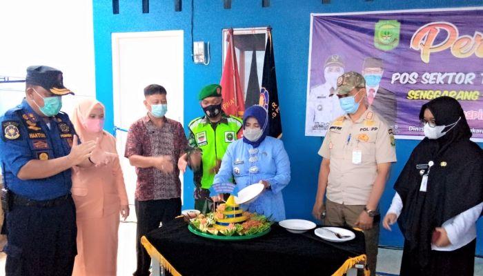 Wali Kota tanjungpinang, Rahma Usai Meresmikan Pos Damkar Senggarang