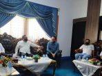 Ketua DPRD Natuna, Daeng Amhar saat menyambut Kunjungan Kanwil Kemenkumham Kepri