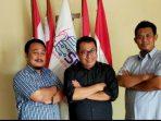 Ketua Umum SMSI Pusat, Firdaus (Tengah) Saat Foto Bersama