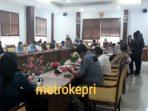 Suasana RDP di Ruang Komisi I DPRD Kota Batam