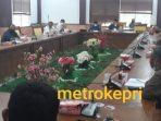 Suasana RDP di Ruang Rapat Komisi I DPRD Kota Batam. Foto Jihan