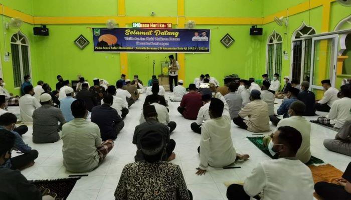 Wakil Walikota batam, Amsakar Saat Safari Ramadan di Masjid Sunnatul Rosul