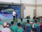 Wali Kota Batam, Muhammad Rudi Saat Membuka Seminar Remaja Masjid Bangkit