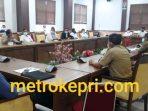 Suasana RDPU Diruang Komisi I DPRD Kota Batam