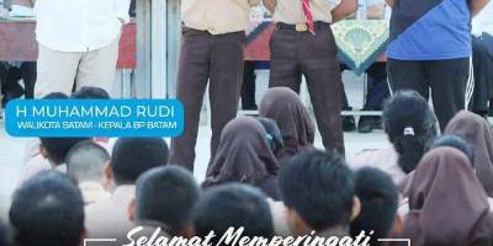 Wali Kota Batam, Muhammad Rudi Saat Hardiknas