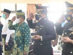 Sekda Kota Batam, Jefridin Saat Mengikuti Upacara Peringatan Hari Lahir Pancasila