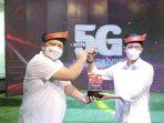 Wakil Wali Kota Batam, Amsakar Saat Peluncuran Layanan 5G