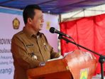 Gubernur Kepri, Ansar Ahmad Saat Peresmian Aliran Listrik di Salah Satu Desa