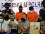 Kasatreskrim Polres Bintan Saat Konferensi Pers Pengungkapan Kasus Judi Siejie