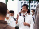Wali Kota Batam, Muhammad Rudi Saat Menyampaikan Arahannya